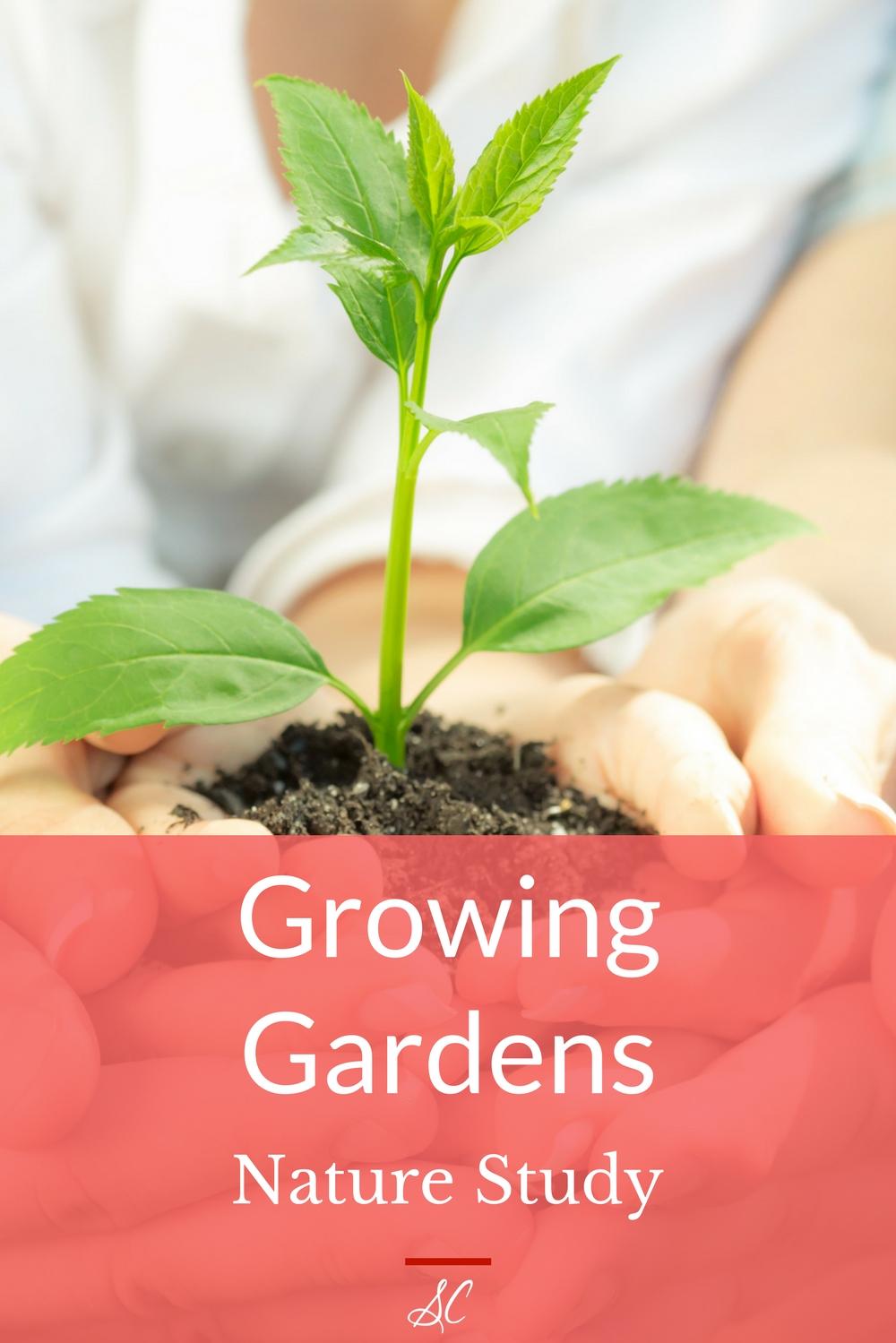 nature study growing gardens susan chrisman