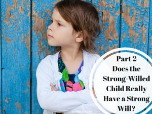 Does the Strong-Willed Child Really Have a Strong Will? Part 2