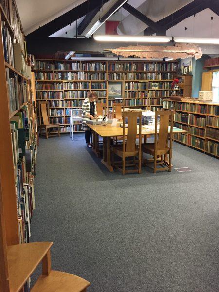 Library at Armitt Museum