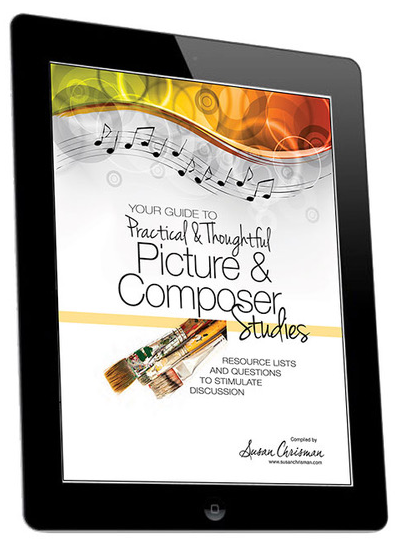Your Guide to Practical & Thoughtful Picture and Composer Studies.