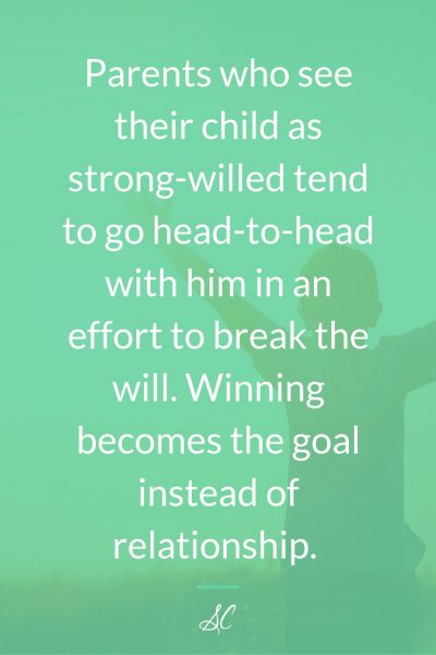 Going head-to-head with your child makes winning the goal, instead of relationship.