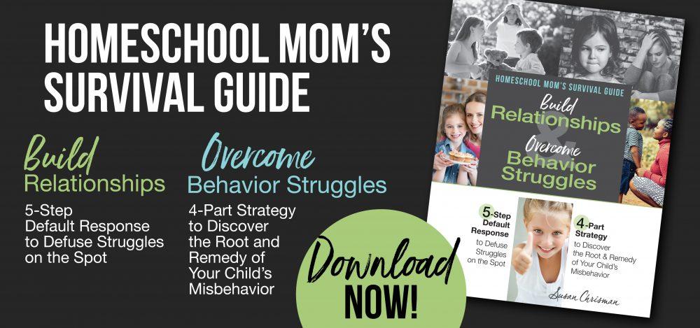 Homeschool Mom's Survival Guide